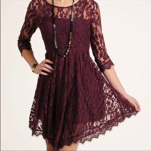 Free People | Mesh Lace Dress